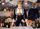 Edouard Manet A Bar at the Folies-Bergere painting